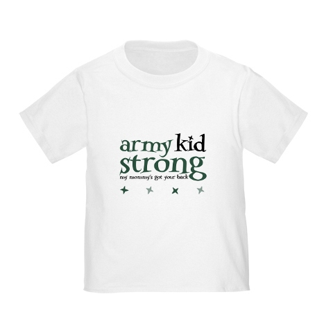 Army Kid Strong tshirt