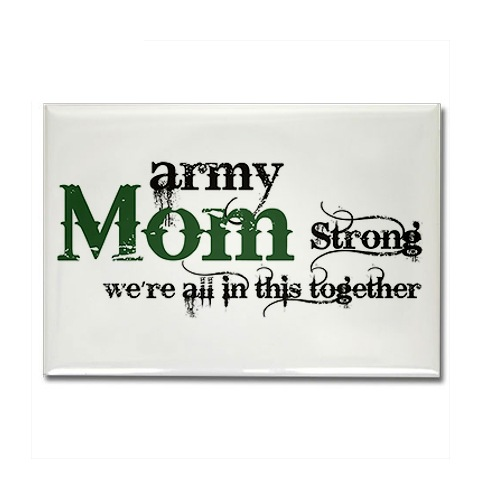 army mom strong magnets