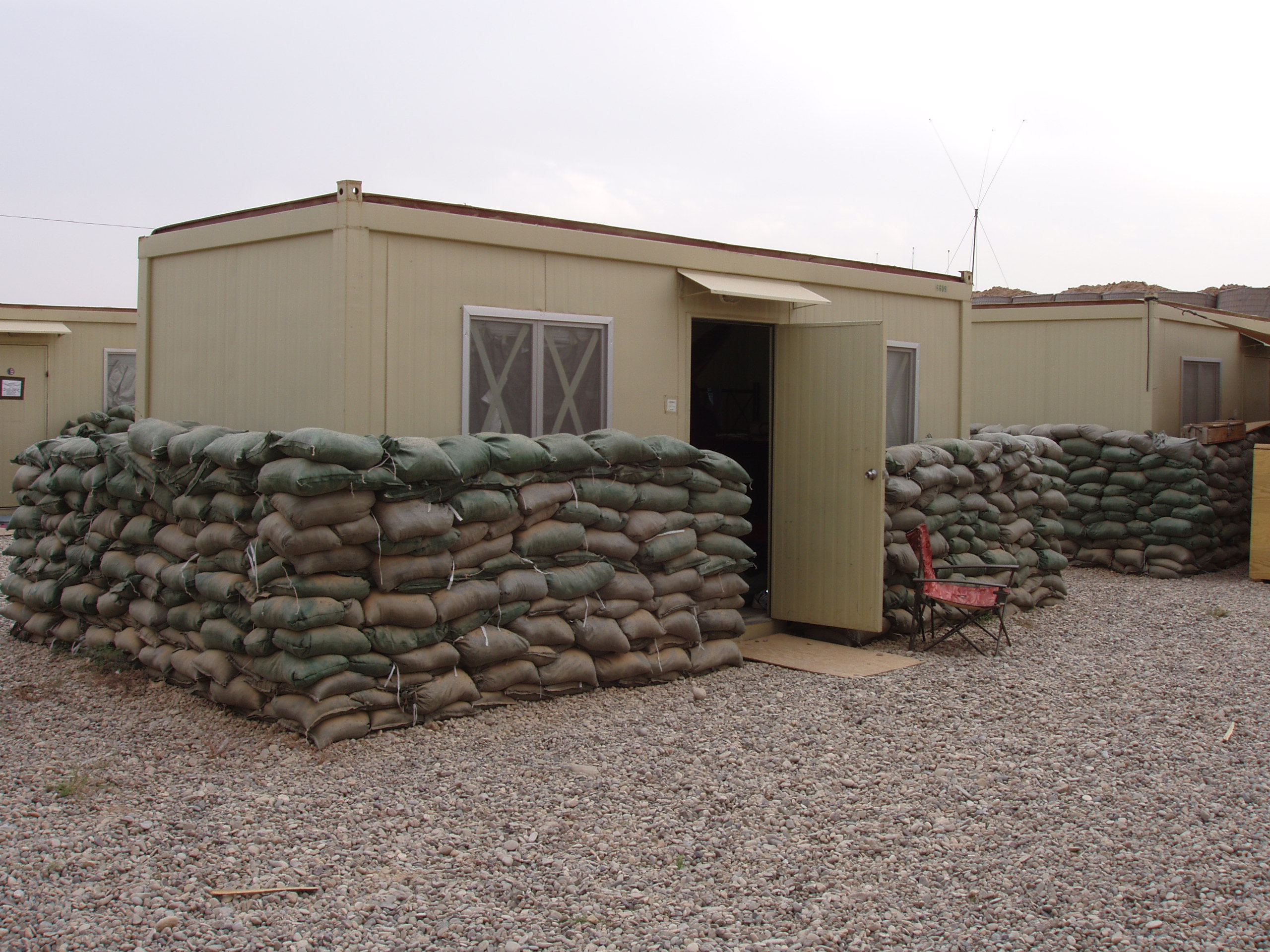 CHUville Home Sweet For Soldiers In Iraq amp Afghanistan