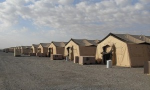 tent city afghanistan