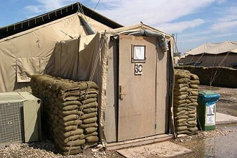 Tent City For U S Troops In Afghanistan And Iraq