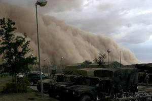 Sandstorm in Iraq