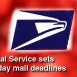 2011 Deadlines for Holiday Mail Sent to U.S. Troops Overseas