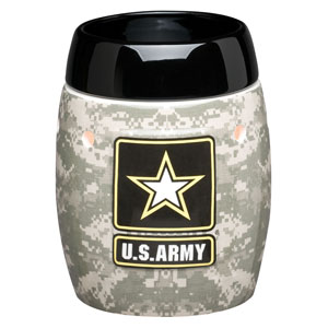 Army Scentsy warmer