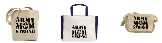 army mom strong bags