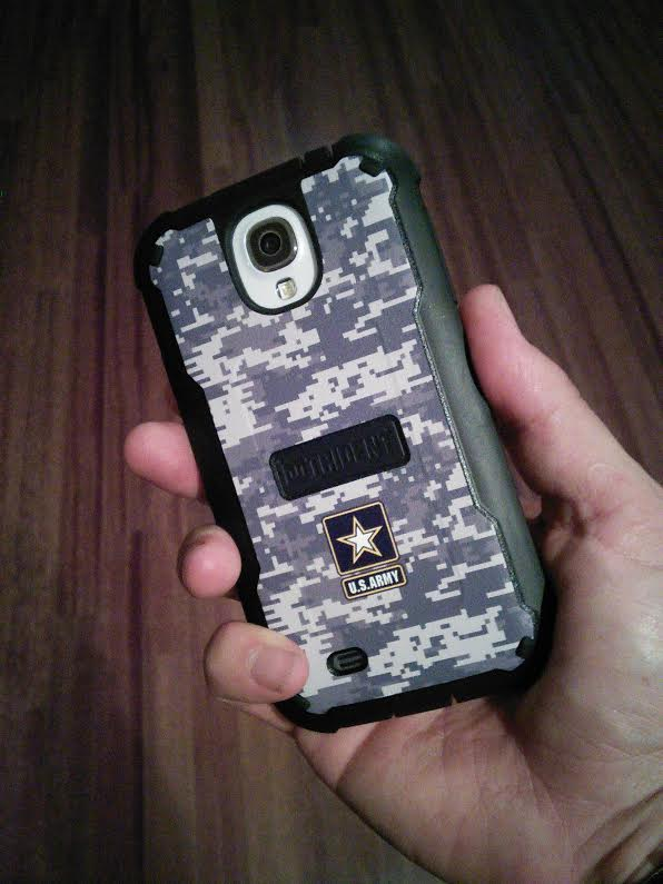Military Edition - Cyclops Case for Samsung Galaxy S IV