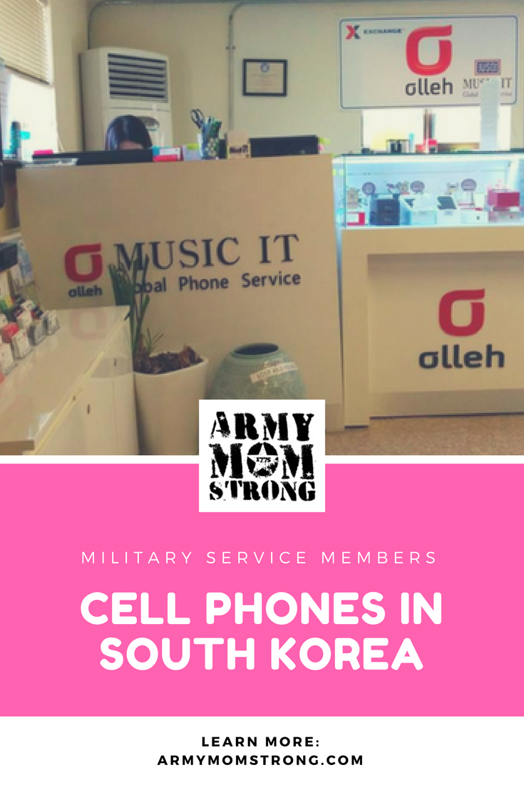 Is your son or daughter deploying to South Korea? In this post I share some tips about cell phones in South Korea. Learn more.