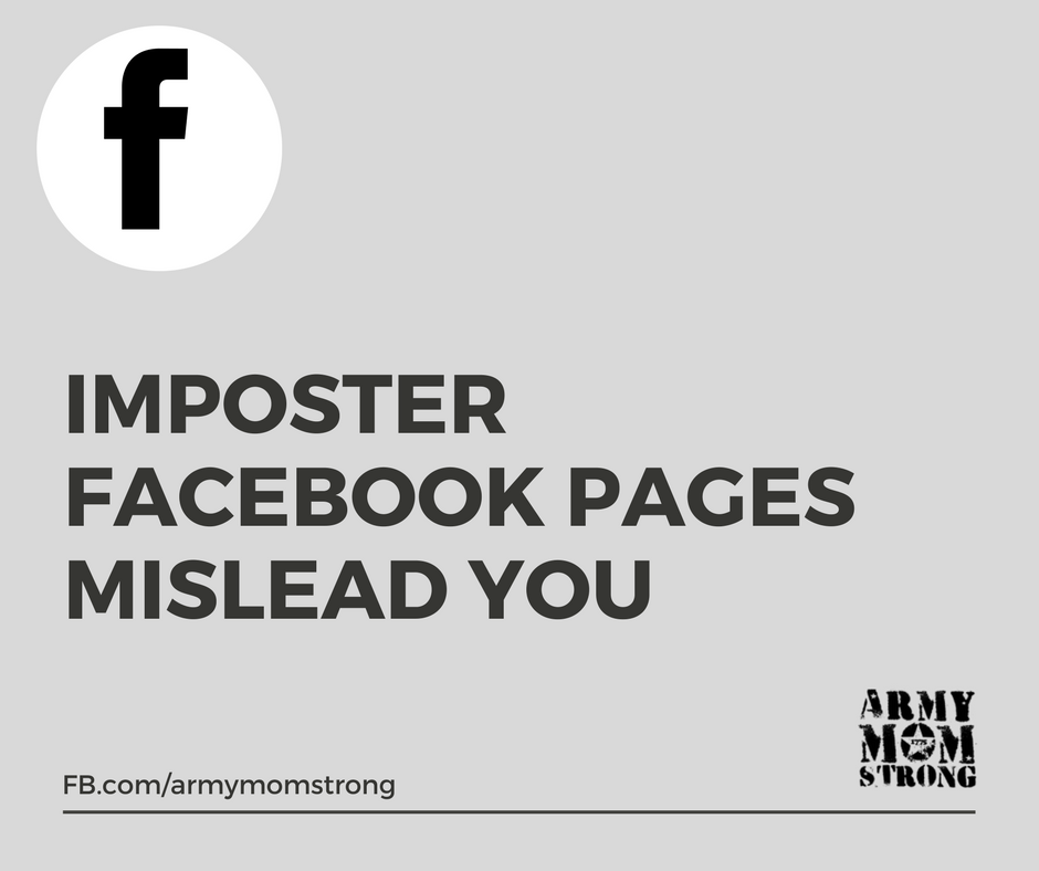 Imposter Facebook pages can hurt you