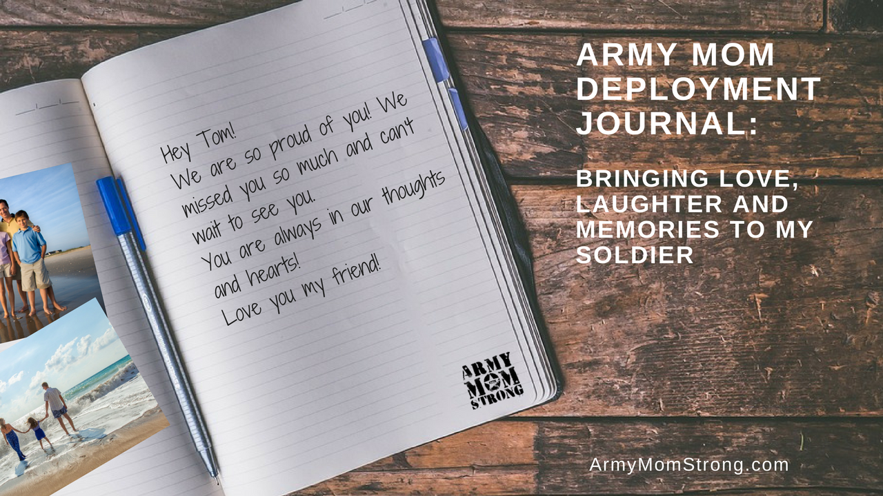 Army deployment journal