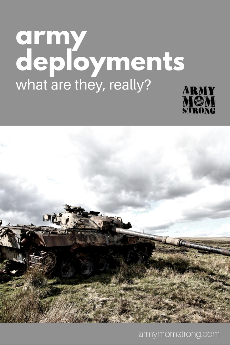 The real meaning of army deployments and some resources for army moms.