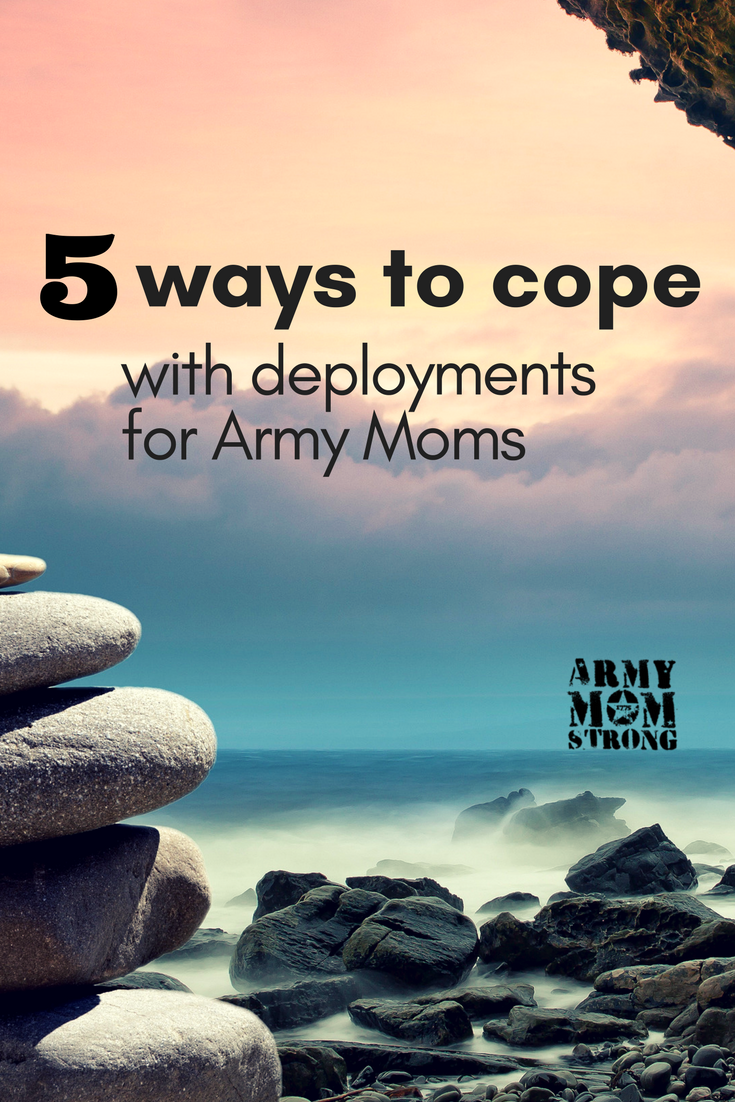 Here are 5 tips for Military Moms to deal with their child's deployment. Learn to stay balanced and calm while your child is deployed.