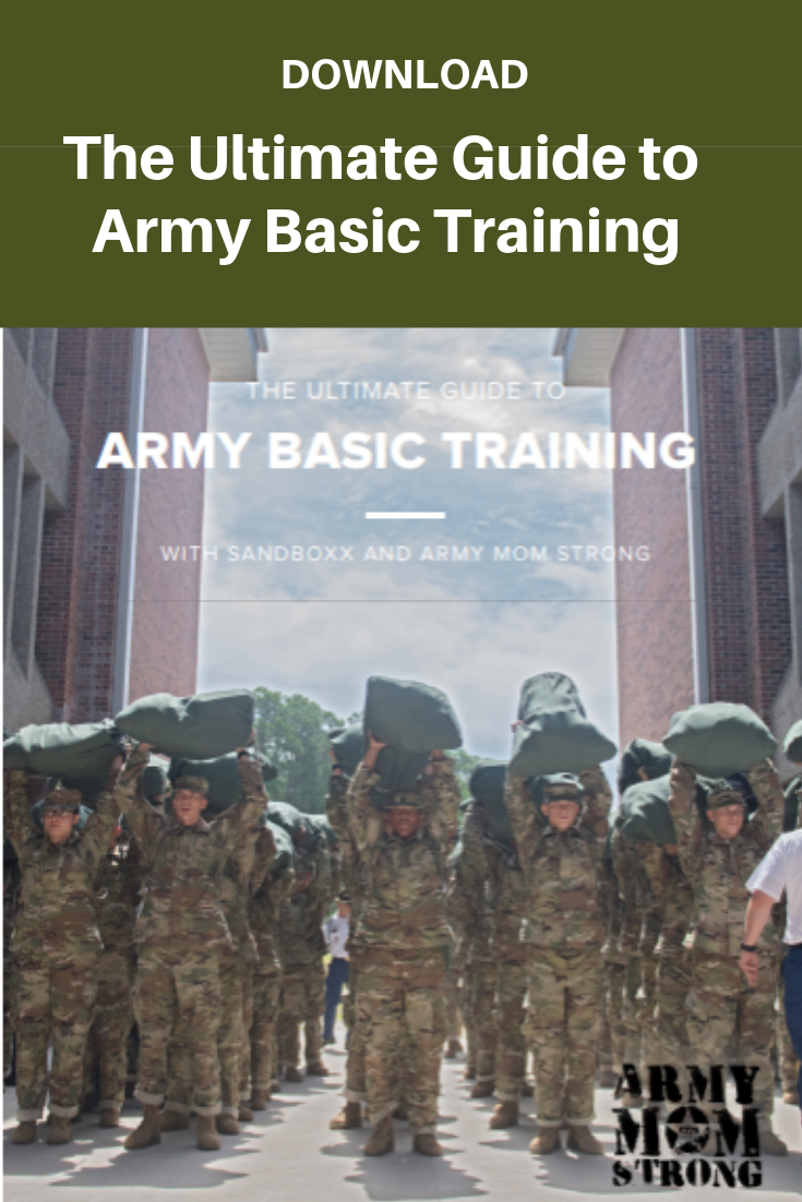 Download the Ultimate Guide to Army Basic Training, a collaboration from Sandboxx and Army Mom Strong.