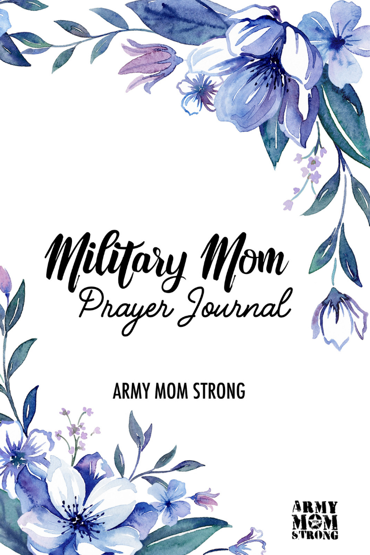 I was inspired to create this Military Mom Prayer Journal to help you lift the weight of worry from your mind while your loved one serves.
