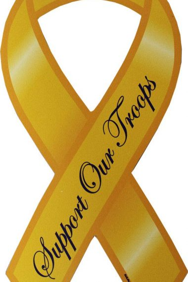 What is Meaning of Yellow Ribbons for Armed Forces